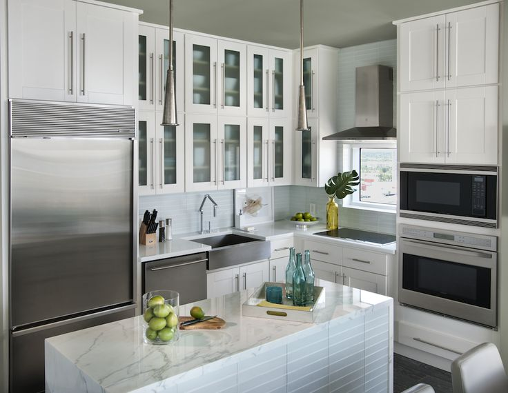 Kitchen And Bath Trends: Style Inspiration Turquoise And White Kitchen At  Blog.cabinetstogo