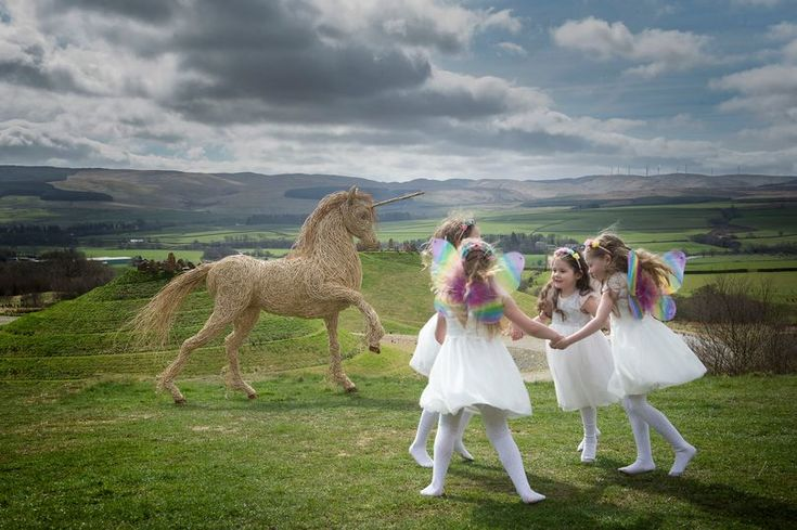 Scotland's national animal is being honoured today. Here are some top spots from the country's unicorn trail.