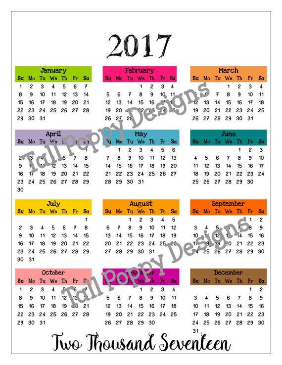 best 10  at a glance calendar ideas on pinterest