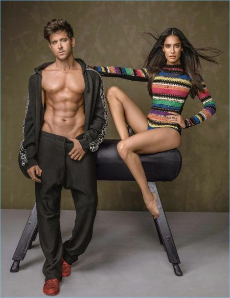 Hrithik Roshan & Lisa Haydon are Body Beautiful for Vogue India Cover Story