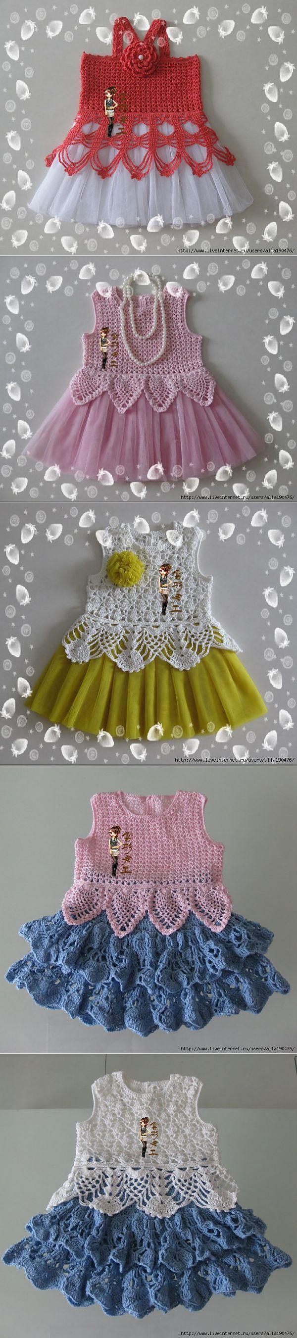 Для маленьких леди. | Вязание крючком | Постила [] #<br/> # #Diy #Crochet,<br/> # #Crochet #Baby,<br/> # #Crochet #Ideas,<br/> # #Crochet #Fashion,<br/> # #Crochet #Dresses,<br/> # #Crochet #Projects,<br/> # #Toddlers,<br/> # #Tissue<br/>