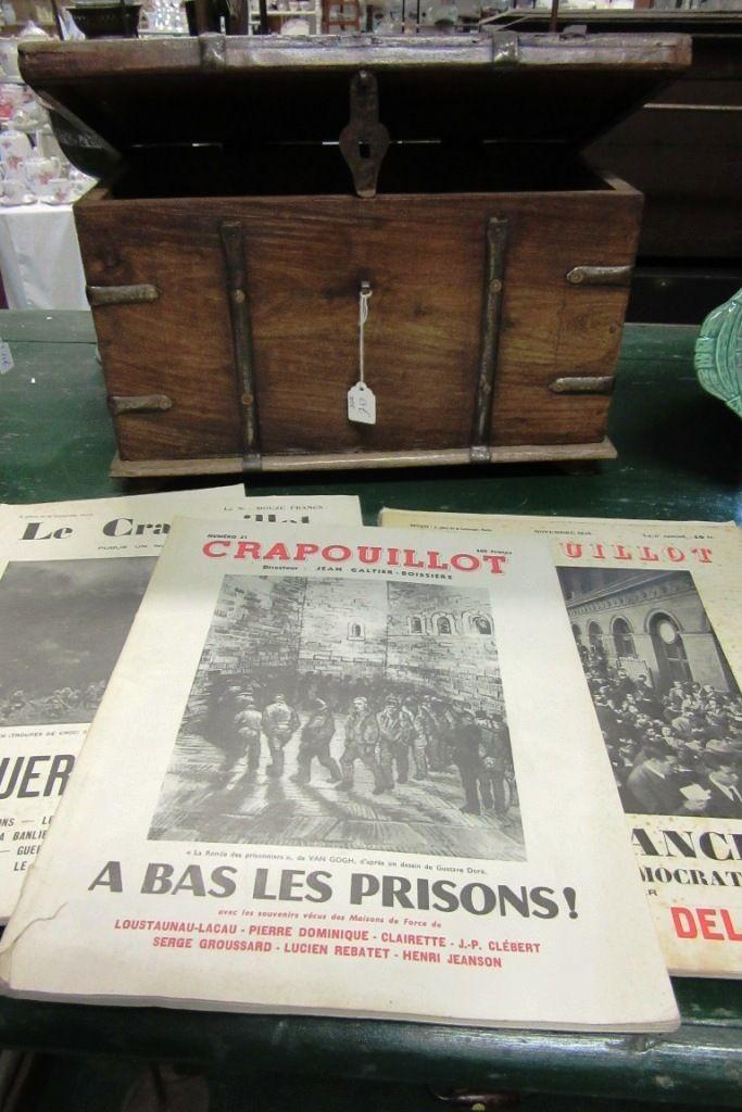 Le Crapouillot, plusieurs exemplaires disponibles à Lannebert et Paimpol. www.auvieuxchaudron.fr
