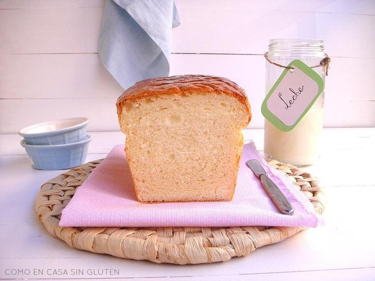 como en casa sin gluten: PAN DE MOLDE CON QUESO SIN GLUTEN (*RIQUISIMO*)