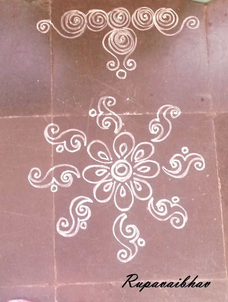 Rangoli Design by RupaVaibhav