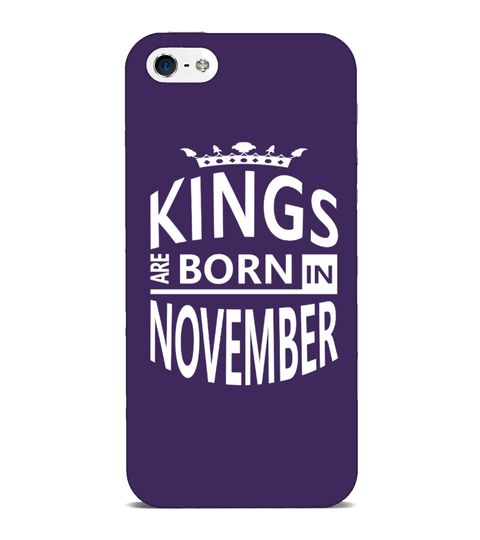 November Born King Cool Birthday Gift