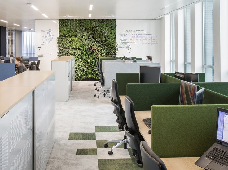 47 best office plants and green walls images on pinterest for Green office interior design