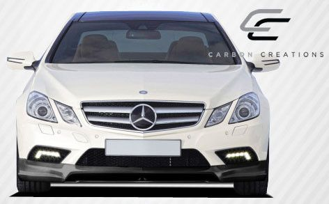 2010-2013 Mercedes E Class Sport AMG C207 2DR A207 Convertible Carbon Creations CR-S Front Lip Under Spoiler Air Dam - 1 Piece (clearance)