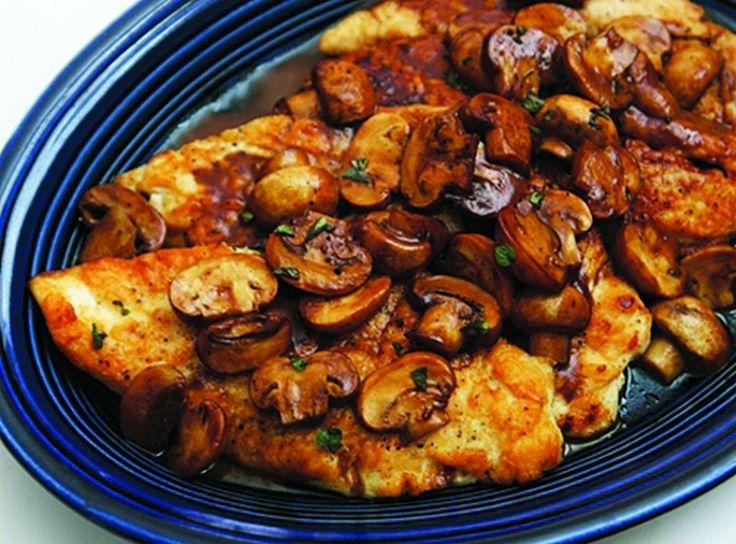 Chicken Marsala- add a little garlic powder, 1/2 teaspoon oregano when ...