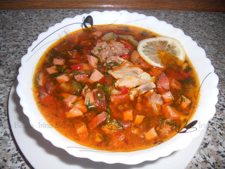 СОЛЯНКА очень сытное и вкусное блюдо. Хорошо приготовить в наших прохладных широтах. Солянка бывает мясная, рыбная и грибная. Рецепты домашней кухни с Ириной...