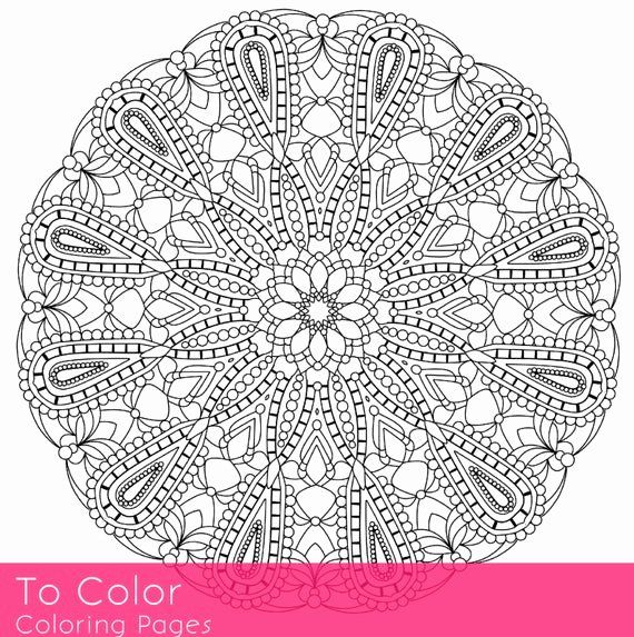 Intricate Coloring Pages For Adults Luxury Items Similar To Intricate Printable Coloring Pages For Coloring Books Printable Coloring Pages Coloring Pages