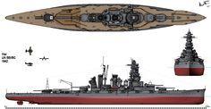flota imperial japonesa    Que pasó con la Flota Imperial Japonesa? (Acorazados)