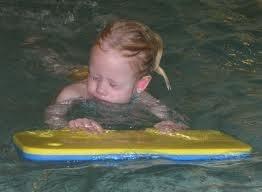 De eerste echte zwemlessen - Alles over zwemmen