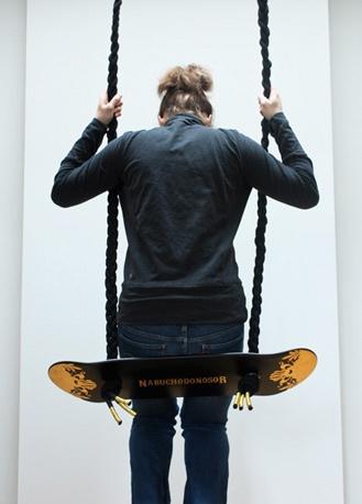 #upcycled #skateboard