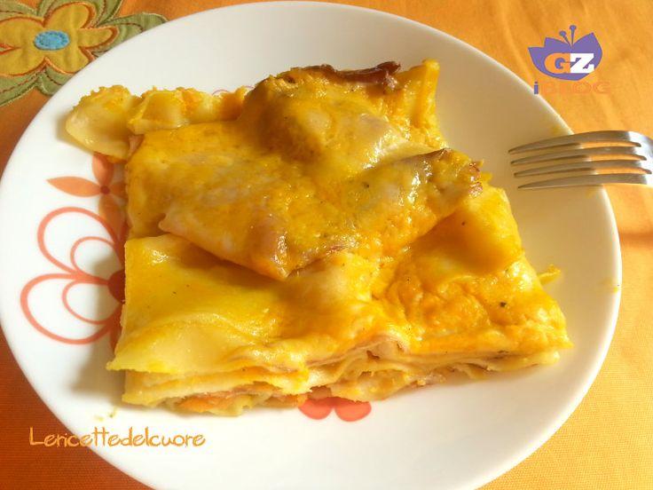 lasagne zucca speck e scamorza