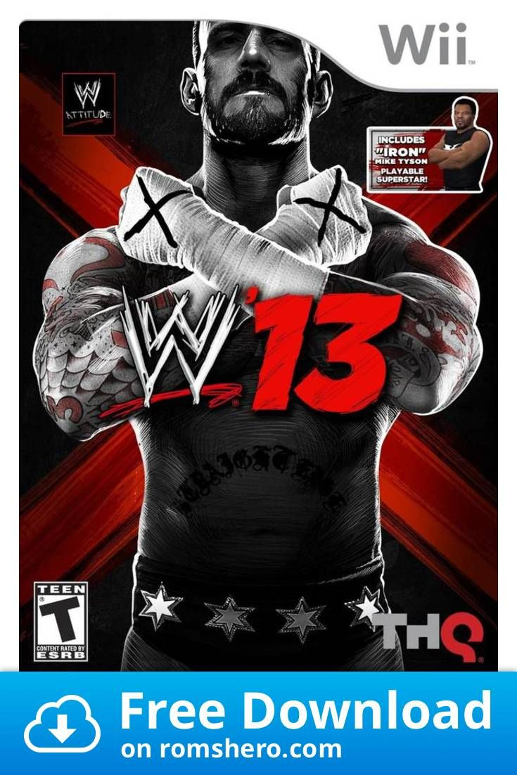 Download Wwe 13 Nintendo Wii Wii Isos Rom With Images Wii