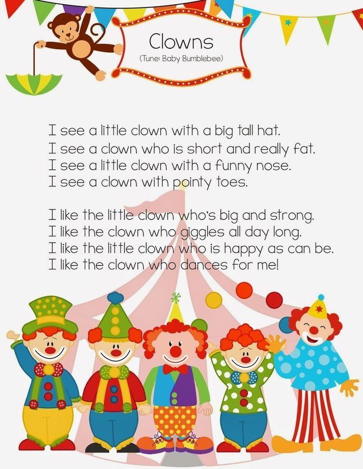clown activities for preschoolers 91 best carnival circus preschool theme images on 966