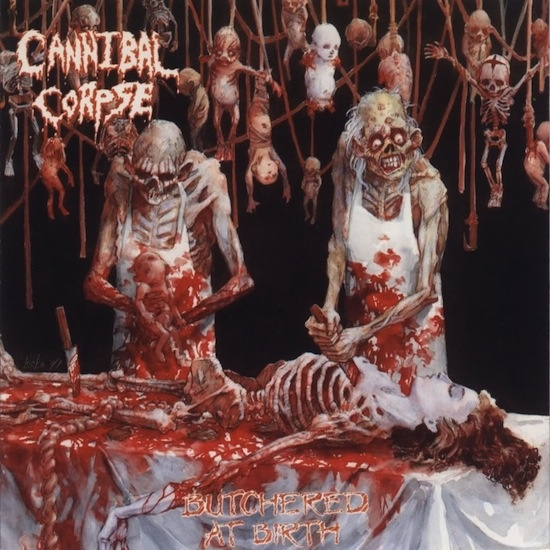 Cannibal Corpse = nasty gory horror metal \m/