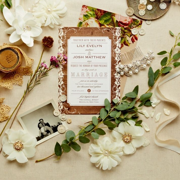 cheap0th wedding anniversary invitations%0A Rustic is just one of the top wedding stationary trends  snippetandink  spotted in our Invitations