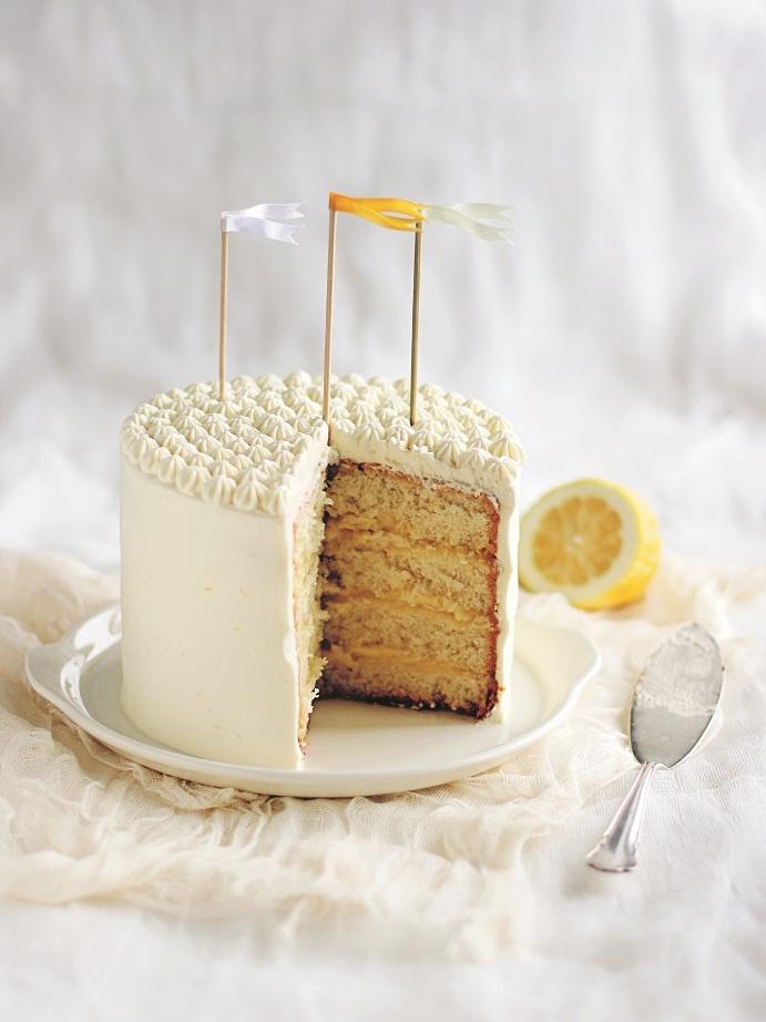 Citroendroomtaart, trendy taarten, Linda Lomelino, callmecupcake