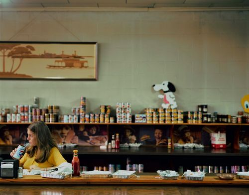 Stephen Shore | Phaidon  Chas Kincaid Grocery Store, Fort Worth, 1976