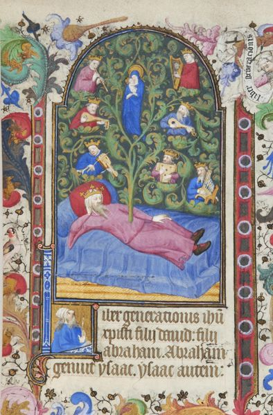 Book of Hours, MS M.919 fol. 23r - Images from Medieval and Renaissance…