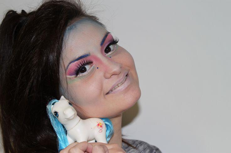 Trucco moda mini ponyp