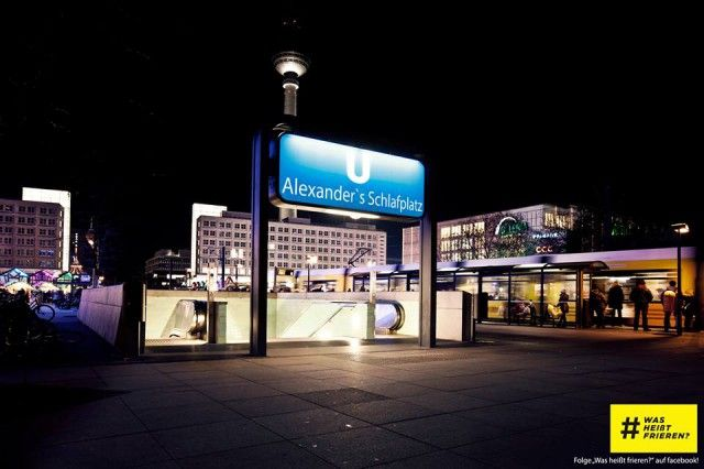 What Does Freezing Mean? – A Berlin Campaign for the Homeless » iHeartBerlin.de