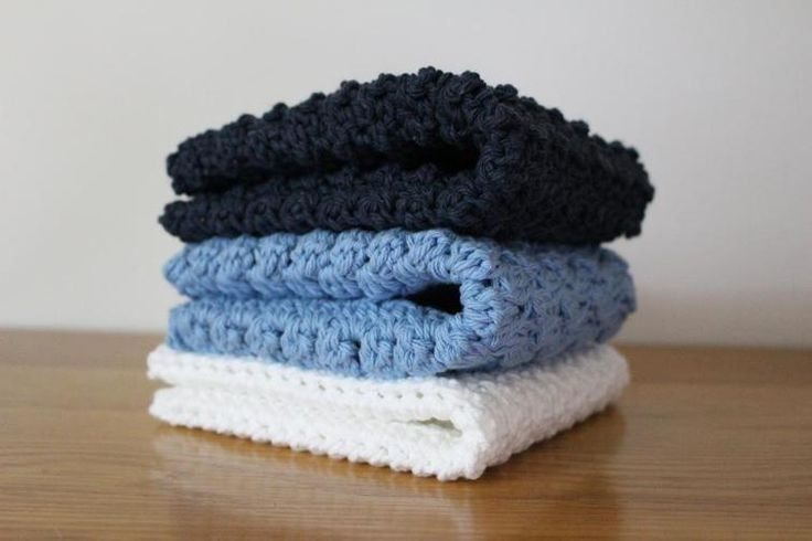 Crochet Washcloths (3 patterns) | Craftsy