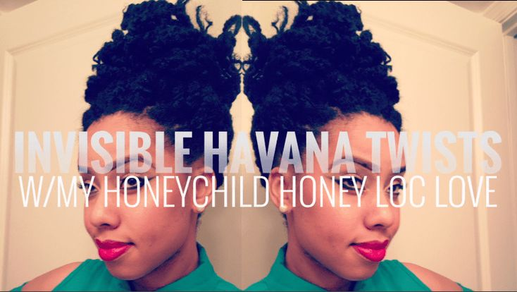 How To Tutorial: Invisible Root Havana Twists