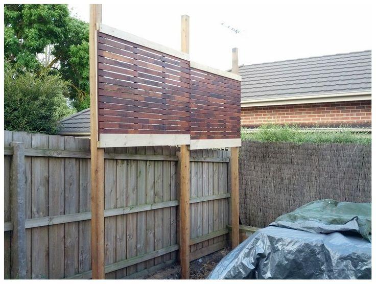 Colourbond fence privacy screen google search screens for Outdoor privacy screens for backyards