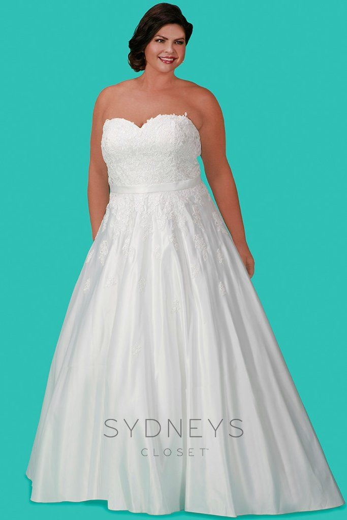 The 8 best Sydney\'s Closet Bridal Gowns images on Pinterest | Short ...