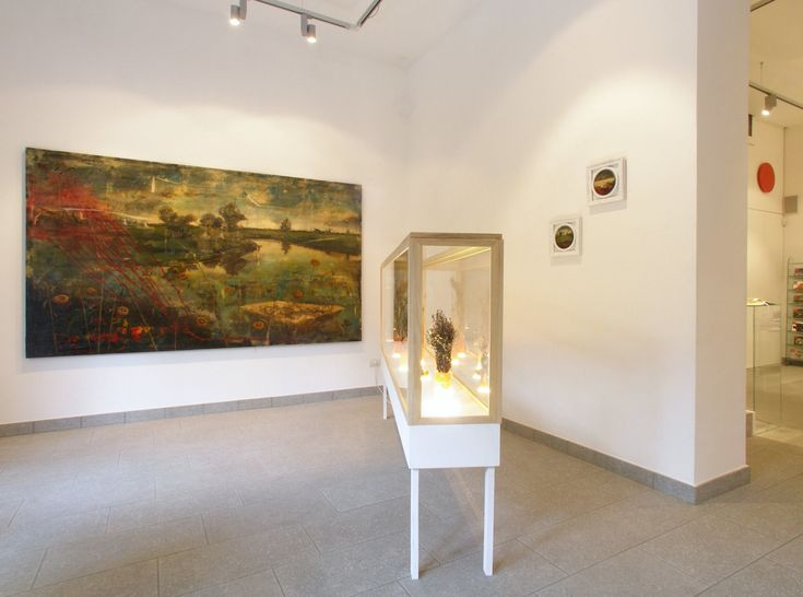 Modern And Contemporary Art Gallery Ferrara Terra E Acqua Wall Art