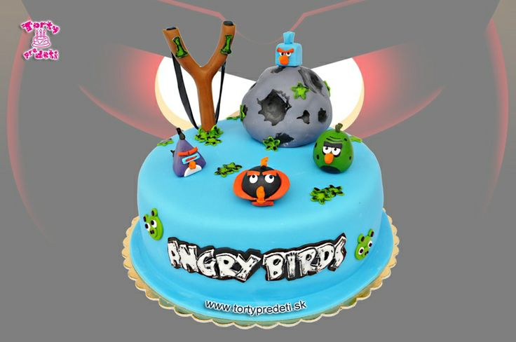 Torta Angry Birds space | Torty Žilina