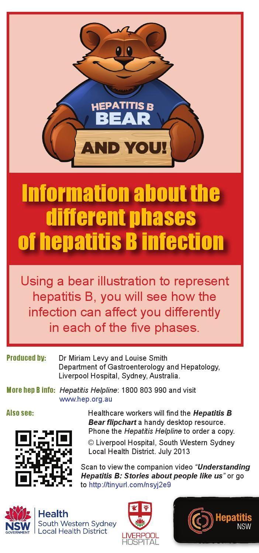 Hepatitis B Bear and You!