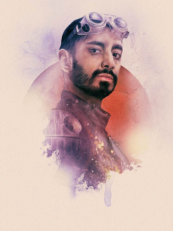 Rogue One Portraits - Created by Rich Davies Part of the Rogue One Tribute at Poster Posse. Check it out here.