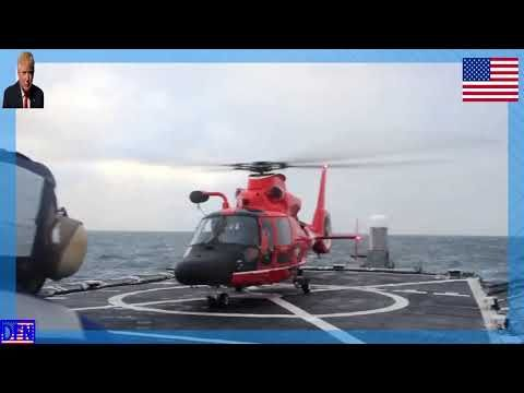 Defense Flash News : Honolulu-based Coast Guard searches for Alaskan fishermen AK, UNITED STATES 02.13.2017 Courtesy Video U.S. Coast Guard District 14 Hawaii Pacific The Honolulu-based crew of USCGC Morgenthau (WHEC 722) have been an integral part of the search effort for the six crewmen, a...