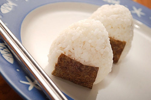 Onigiri or Omusubi (I believe) - Spawn has requested this several times now.