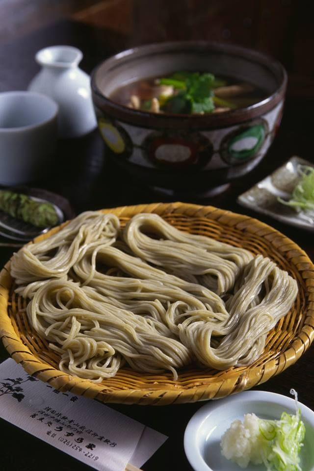 Japanese soba noodle are traditionally eaten on new year. The long noodles represent a long and happy life. Many family's now a days though have switched from soda noodles to ramen though.