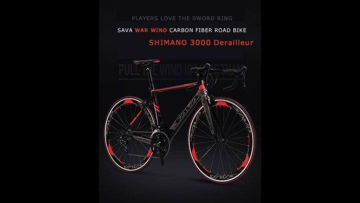 САВА 700C волокна углерода дорожный велосипед Полный велосипед Carbon Ве...