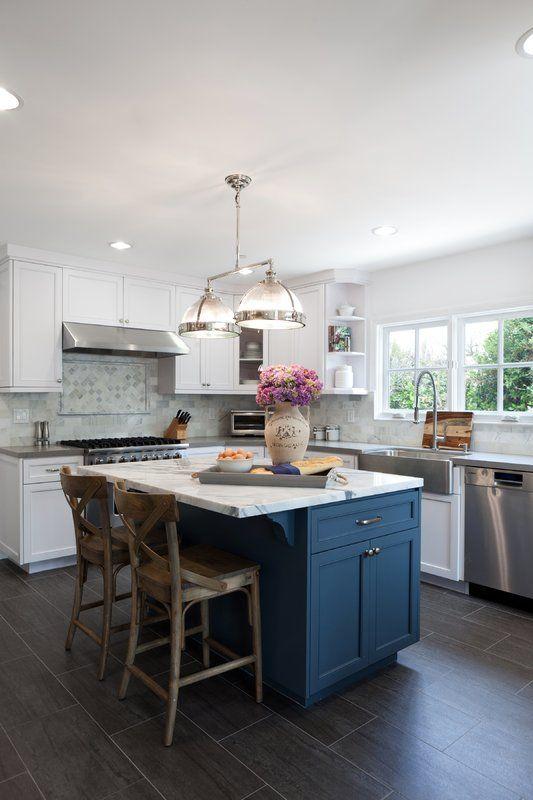 country kitchen house in 2019 blue kitchen island kitchen rh in pinterest com