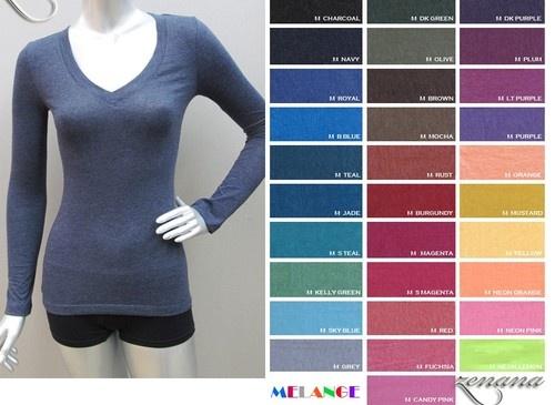 cheap long sleeve shirt - more colours