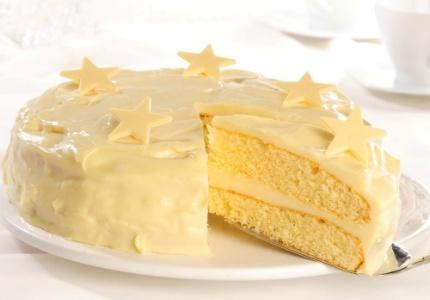 Biały torcik. Kliknij w zdjęcie, aby poznać przepis. #ciasta #ciasto #desery #wypieki #cakes #cake #pastries #Xmas