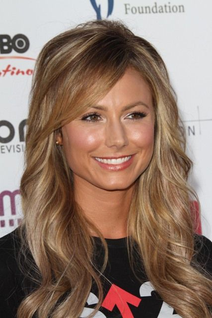 Fall hair color? Loving the cut, too!  Great color since it is more of a caramel than a blond very warm looking