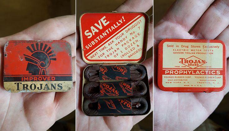 Необычная находка: 60-летние американские презервативы из подвала » Большие фото новости
