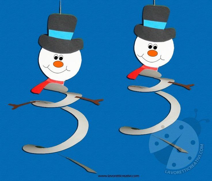 Vogliamo divertirci durante queste giornate invernali? Ci sono tanti lavoretti, molto semplici, con cui possiamo decorare i nostri ambienti a casa e a scuo