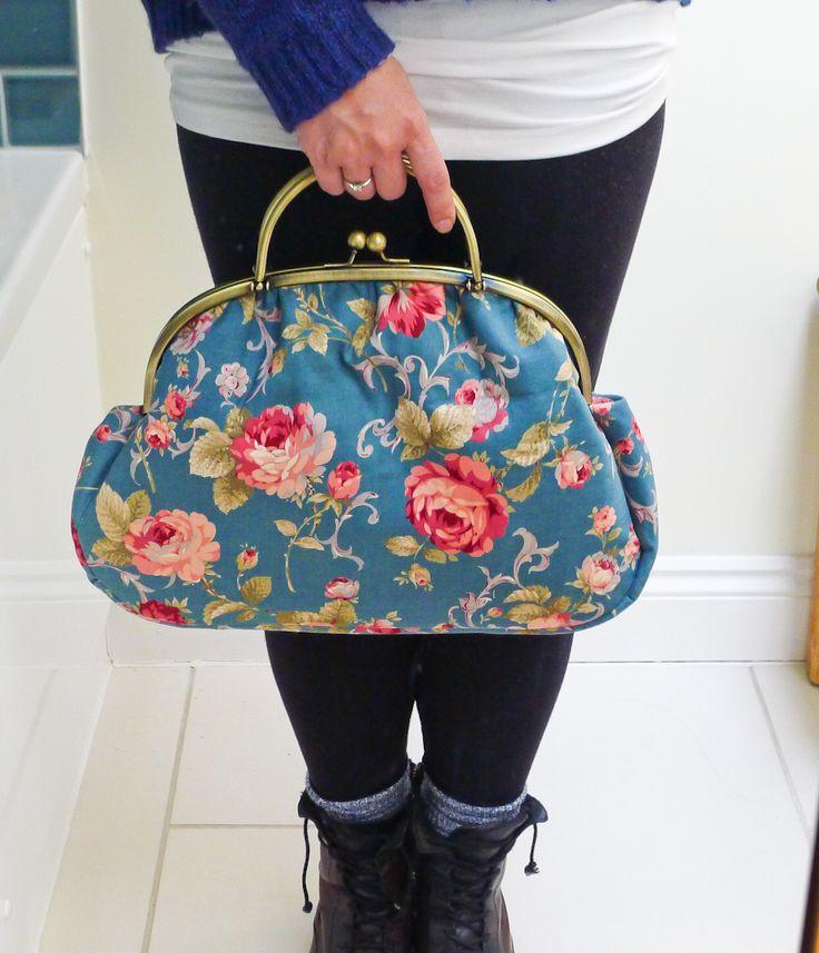 Graceful Kelly Bag PDF Sewing Pattern - by U-Handbag