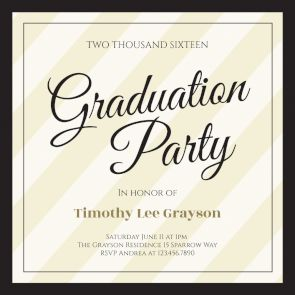 118 best graduation party invitation templates images on pinterest broad diagonals printable invitation template customize add text and photos print download send online or order printed graduation graduationday stopboris Gallery