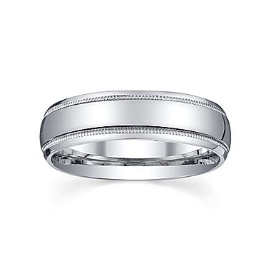 Unique Wedding Band Mens mm Sterling Silver jcpenney