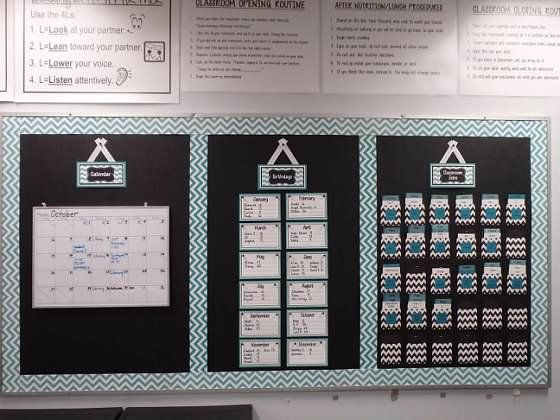 Chevron Classroom Border   Why Is There So Much Chevron In Our Classroom?