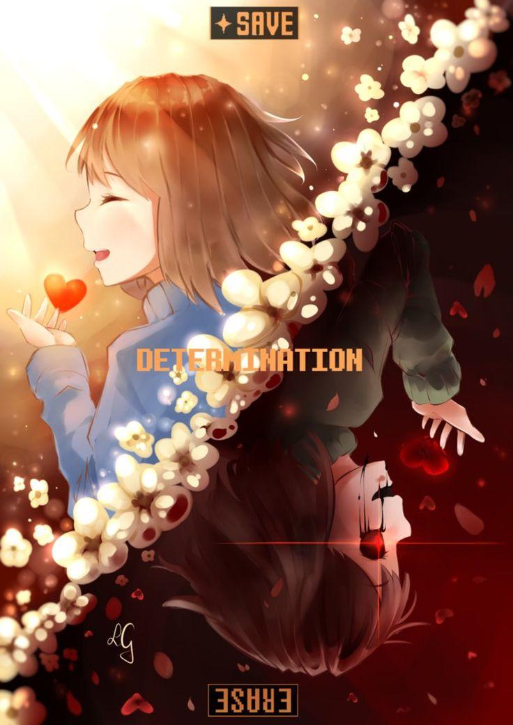 D E T E R M I N A T I O N by Sasoura on DeviantArt